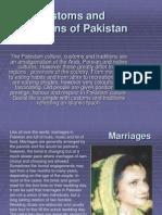 Customs Traditions Pakistan