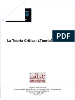 ART_La teoría crítica