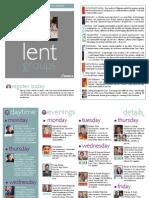 Lent Groups 2014