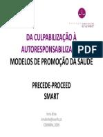 05 Nov 2009 Propedeutica Comunitaria t2 Modelos de Promocao Da Saude