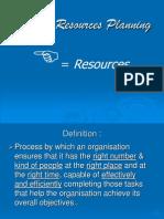 Human Resource Planning1 Ppt.