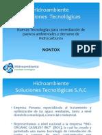 Aplicacion de Nontox en Petroleo