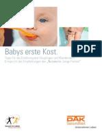 Broschuere Babys Erste Kost-1143514