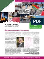 A4 Alain Louis 12p VF