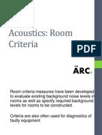 Workshop - Acoustic