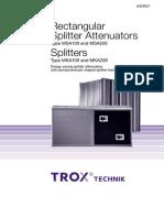 Trox Silencers Catalogue