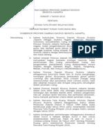 peraturan daerah DKI Jakarta 2030