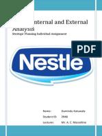 Analysis on Nestlé