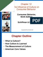 Value , Norm , Chara& Affec on Consum Behaviou