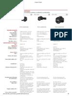 Reflex Canon Compare