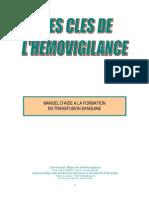 Manuel Aide Formation Transfusion Sanguine