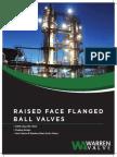 Raised Face Flange Ball Valves