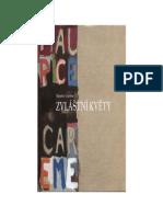 Etranges Fleurs Anthologie Bilingue Francais Tcheque de Maurice Careme