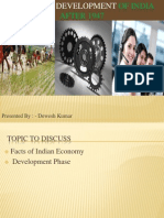 Indian Economy by Dewesh Shukla.ppt