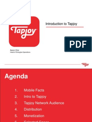 Intro to Tapjoy | App Store (I Os) | Mobile App