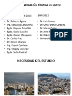 Microzonificaciones sismica