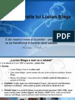 Lucian Blaga. Biografia.