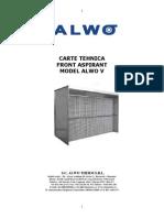 164-Carte Tehnica Front Aspirant ALWO V