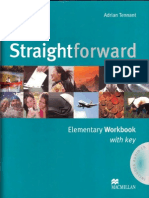Straightforward Elementary Workbook With Key