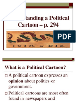 Understanding a Political Cartoon