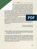 Hale, Charles A.  Las transformaciones del liberalismo mexicano a fines del siglo XIX [reseña]
