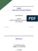 Warp Introduction Slide