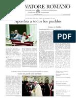 L´OSSERVATORE ROMANO - 31 Enero 2014