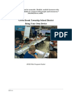GBTPS BYOD Pilot Packet