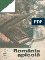 Romania Apicola 1991 Nr.5 Mai