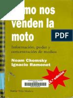 Noam Chomsky, Ignacio Ramonet Cómo nos venden la moto    2002