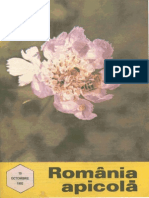 Romania Apicola 1992 Nr.10 Octombrie