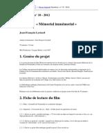 Jean-François Lyotard - Mémorial immémorial.pdf