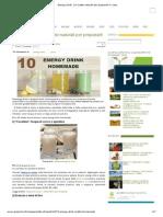 Energy Drink Naturali 10 Ricette Naturali Per Prepararli in Casa