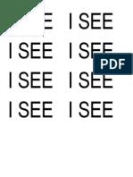 I See Print Prompt