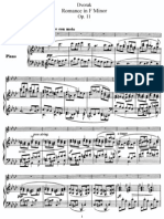 Dvorak Romance in F Minor
