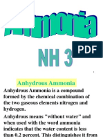 Ammonia safety
