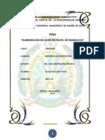 Enologia de Licor de Maracuya Original