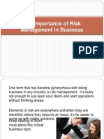 Risk Management ppt