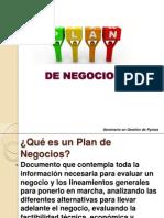 Plan de Negocio, Clase (2)
