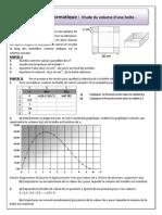 TP Info Volume Max Corrige