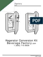 Beverage Factory Kegerator  Conversion Kit Instructions