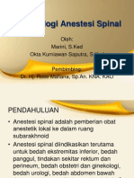 Anestesi Spinal