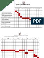 Cronograma de Actividades Monografias Para Directores