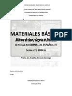 MATERIALES BÁSICOS CUARTO SEMESTRE 2014A