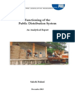 Targeted Public Distribution System