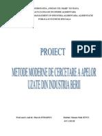 METODE Moderne de Cercetare FIA