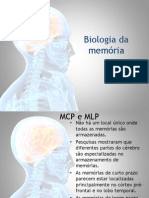 Biologia da memória - memoria e apredizagem