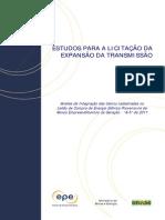 Estudos Para A Licitação Da Expansão Da Transmissão Referentes ao A-5 de 2011