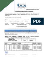 Contrato Internacional Ioe Maestria ( Cop-usd)