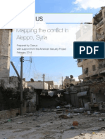 Aleppo Mapping Project Final Report